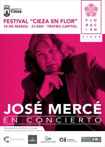 Cartel redes José Mercé Cieza