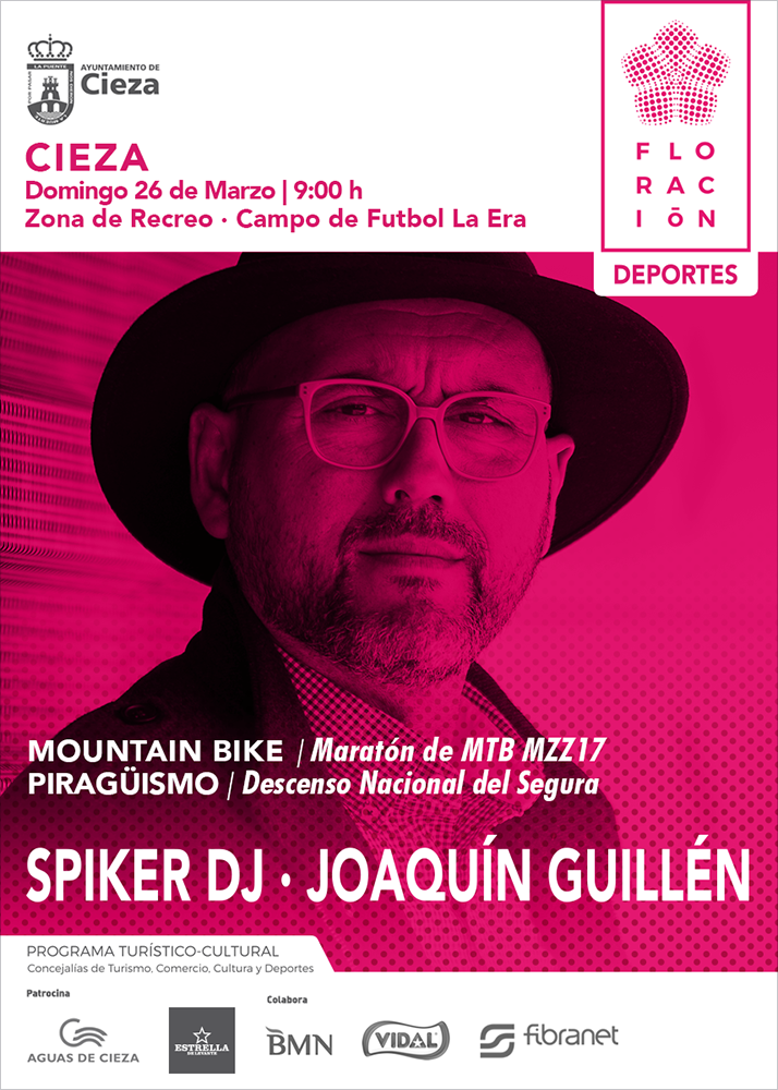 Spiker DJ · Joaquín Guillén · Cieza Festival
