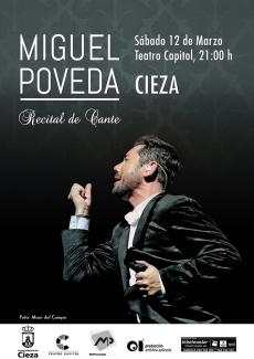 Miguel Poveda · Cieza Festival