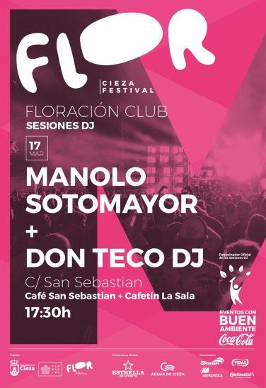 Manolo Sotomayor · Don Teco DJ · Cieza Festival