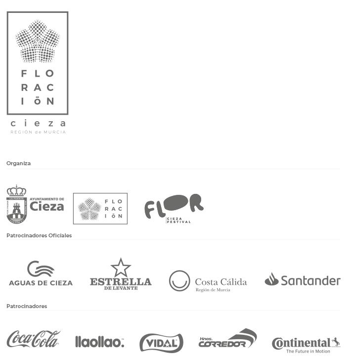 Patrocinadores del Flor Cieza Festival 2020